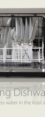 Countertop Dishwasher Built In : Westland Sales - VESTA Countertop/Built-In Dishwasher
