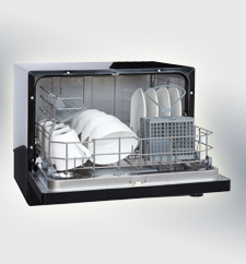 VESTA DWV322CB Countertop Dishwasher